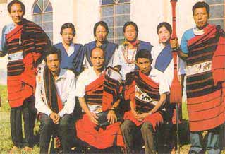 Dress of Nagaland, Dress and Ornaments