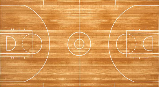 Field And Origin Of Basketball Game Courts Blackboards