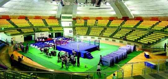 Commonwealth Games 2010 Talkatora Indoor Stadium Points