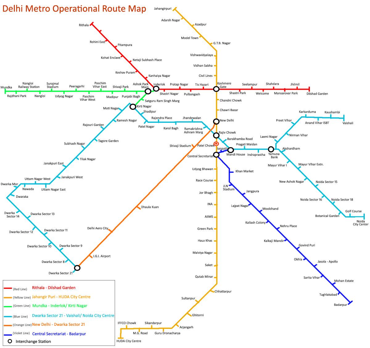 Dmrc Route Map Delhi metro route map Dmrc Route Map
