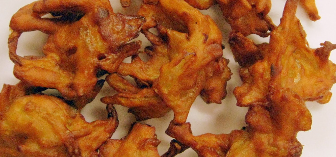Flower Bhaji Cauliflower Bajji Recipe How To Make