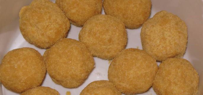 Puffed Dal Balls