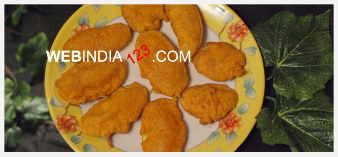 Potato Bajji or Aloo Bhaji