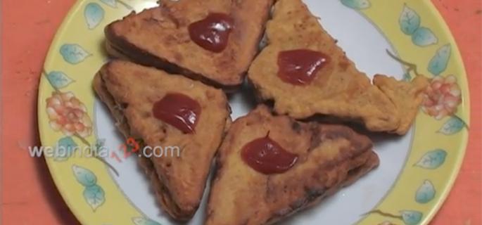 Cheese Bread Pakoda