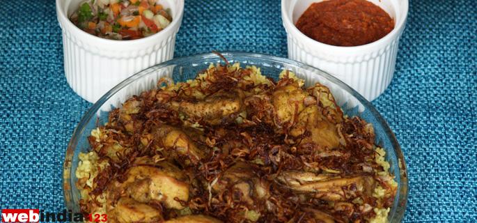 Smoked Mandi Chicken