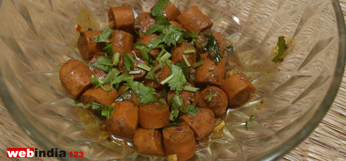 Sausage Pepper Fry