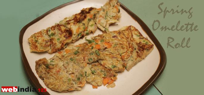 Spring Omelette Roll