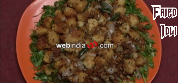 Fried-Idli