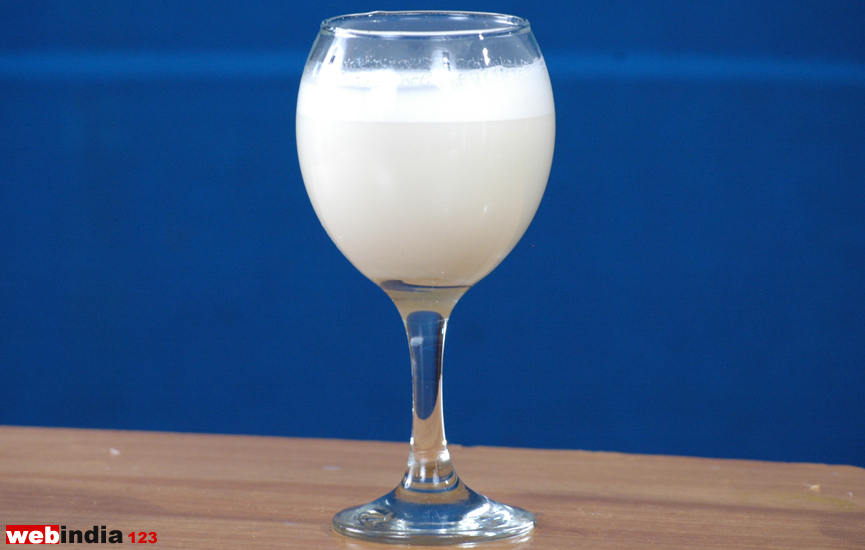 Milk(Paal) Sarbath
