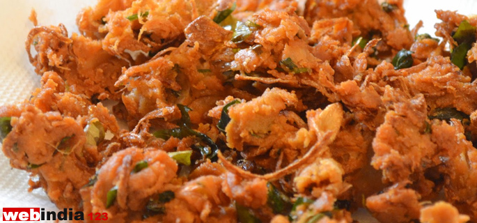 Onion Bhajia Recipe How To Make Onion Bhajia