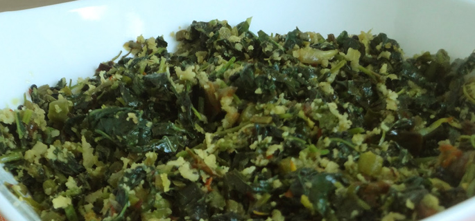 Cheera Thoran / Spinach Thoran