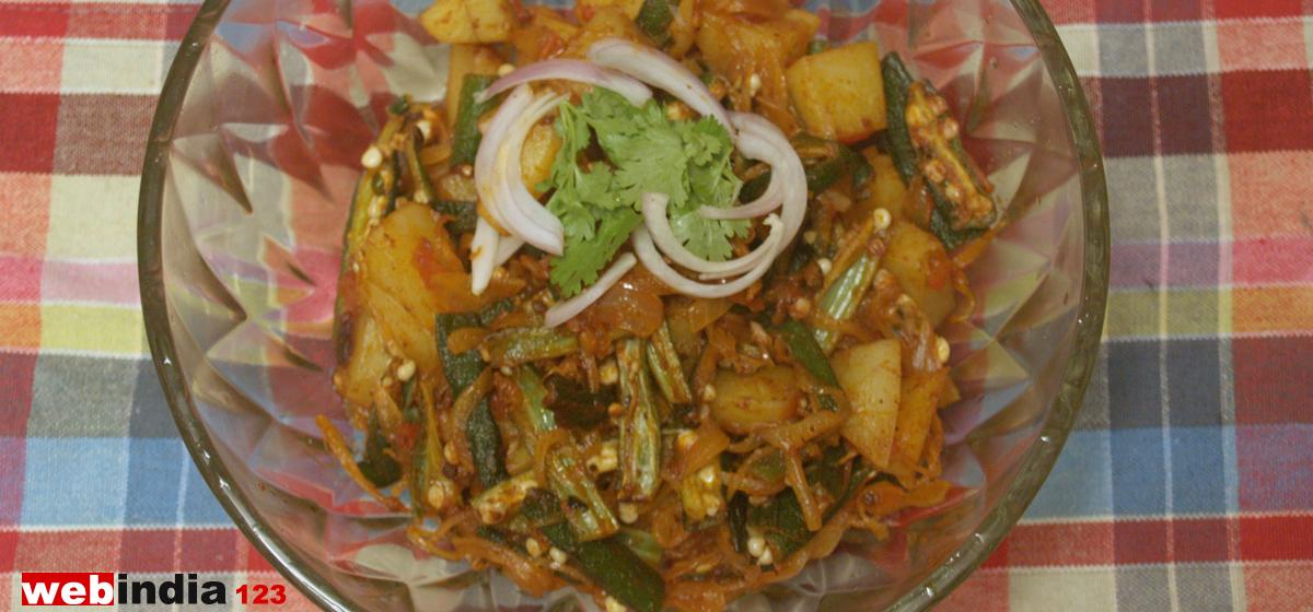 Bhindi Do Pyaza Recipe How To Make Bhindi Do Pyaza