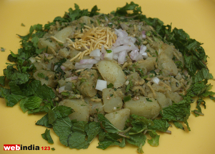 Spicy Aloo Chaat