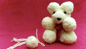 Soft Toy - Pompon Bear