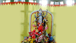 Paper Idol of Goddess Kali