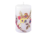 Dry Flower Candle