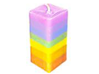 Layered or Rainbow Candle