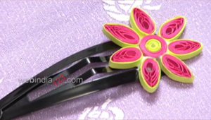 Quilled Hair Clip