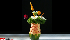 Papaya Flowervase