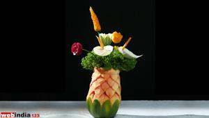 Papaya Flowervase