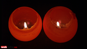 Wax Candle Holder