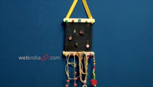 Popsicle Chain and Earring Holder