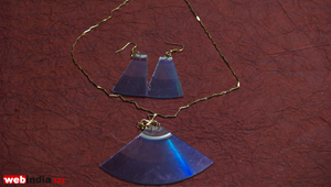 Upcycled CD Jewelry