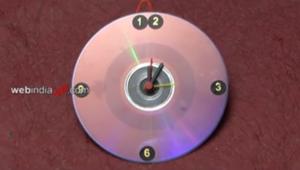 Making a CD Clock