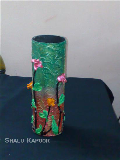 pot painting how to make pot painting craft ForFlower Pot Making With Waste Material