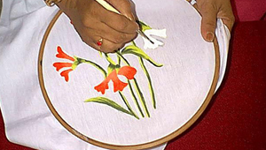 Fabric Painting