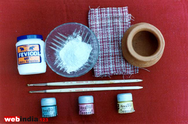 pot painting method ii how to make pot painting method ii ForPot Painting Materials Required