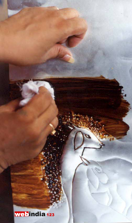 Anti Rust Paint For Metal Embossing