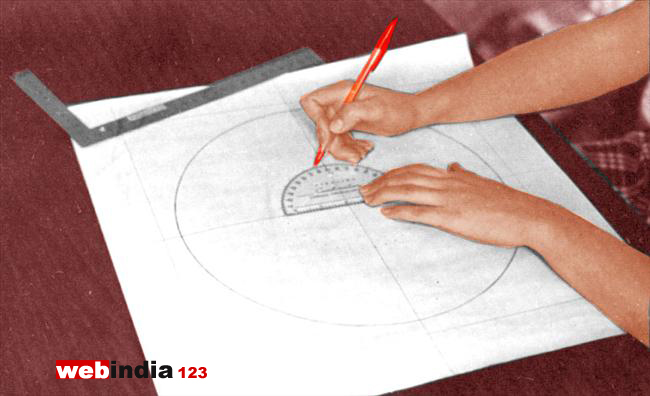 Determine Nail Placement Using Protractor