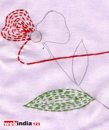 Kantha Work Indian Embroideryhow To Make