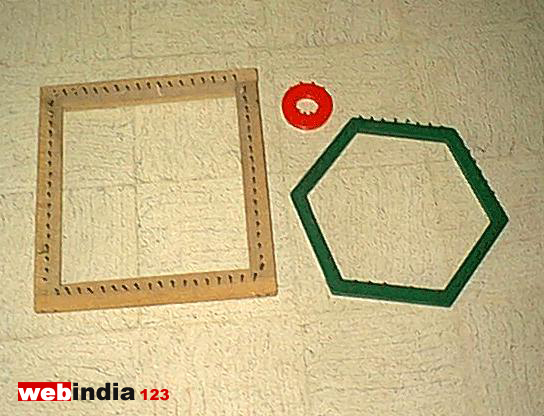 Frames of different shapes