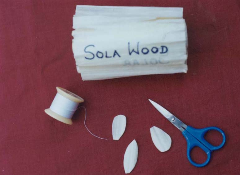 Materials Used For Making A Basket : Solawood flower basket how to make