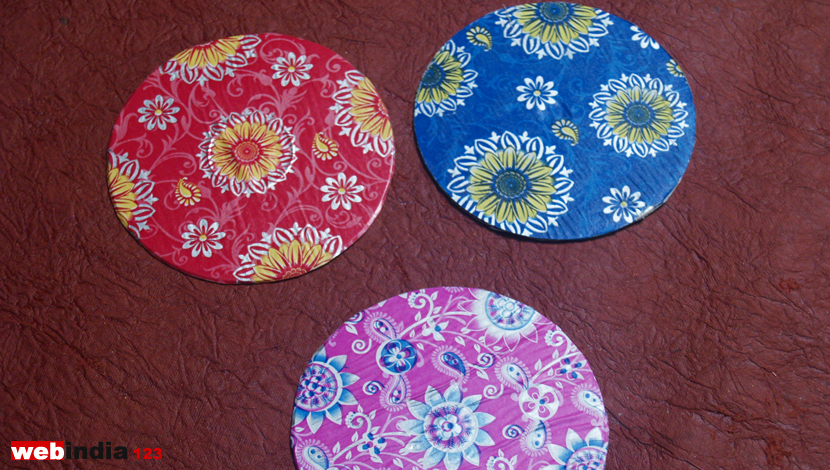 Recycled Cd Coasters How To Make Recycled Cd Coasters Craft