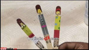 Popsicle Book Mark