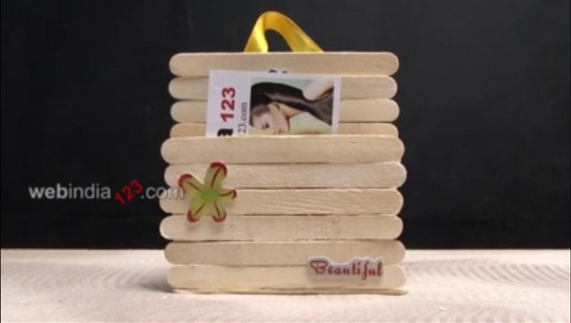 Popsicle Cardholder
