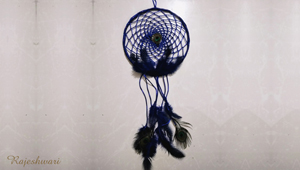 Peacock Dream Catcher