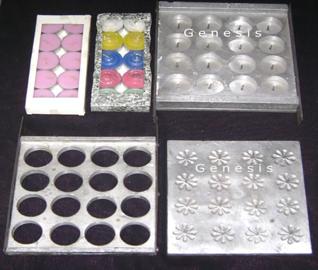 Tea Light Candle Moulds