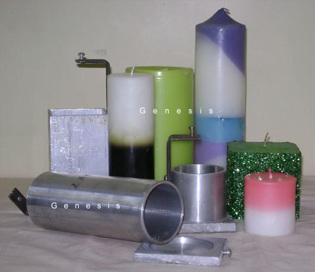 Pillar Candle Moulds