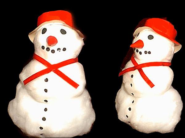 """الاعمال اليدويه """"بالصور """" snowman.jpg"""