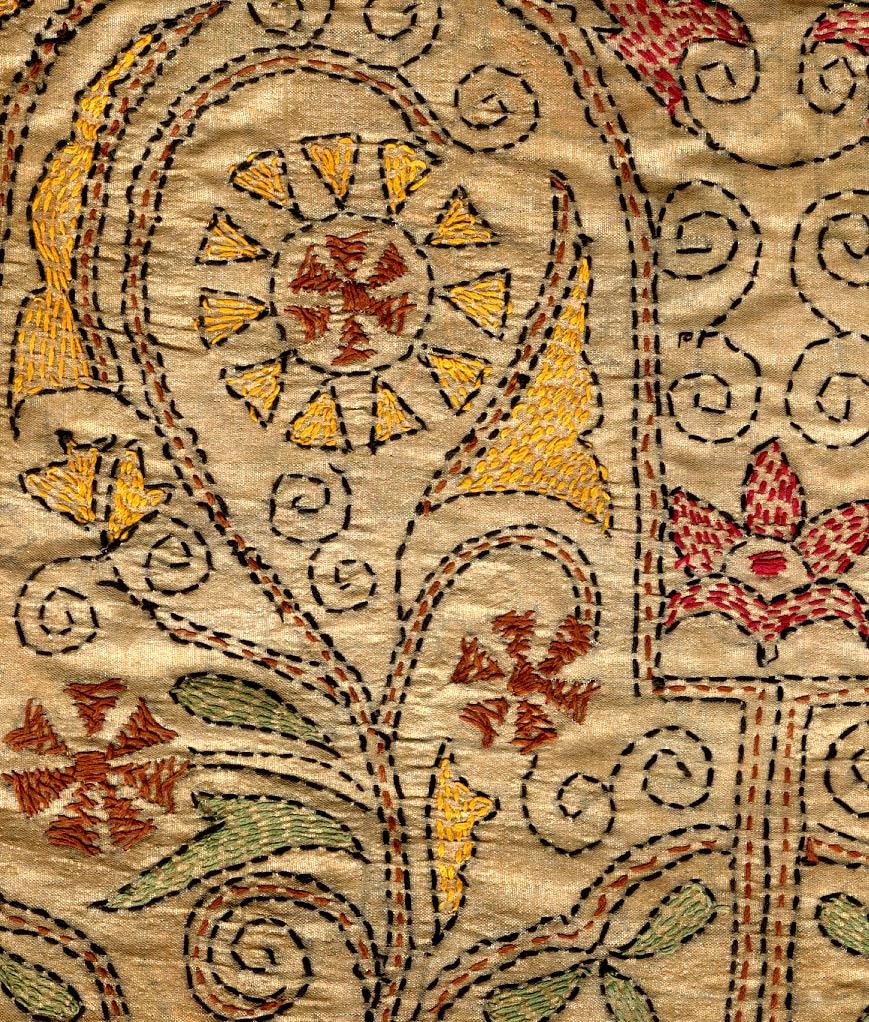 Crafts Kantha Needle Work Making At Home