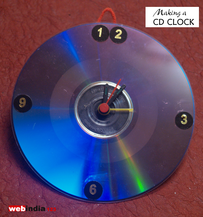 Making a CD Clock