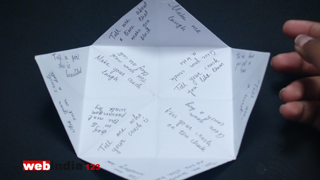 what to write on a cootie catcher