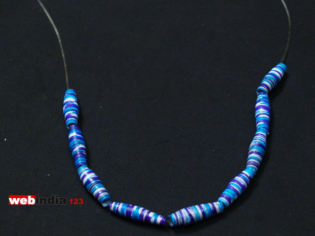 Paper Beads Jewelleryhow To Make Paper Beads Jewellerycraft