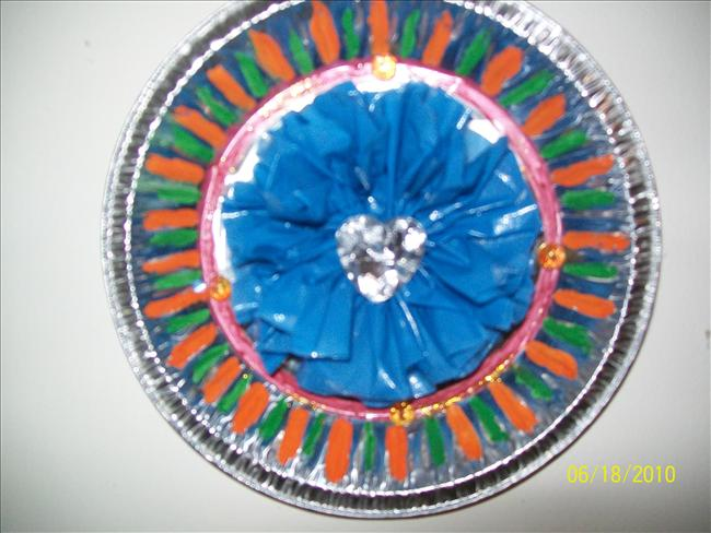 Paper plate decoration  sc 1 st  webindia123.com & Paper plate decorationhow to make Paper plate decorationCraft ...