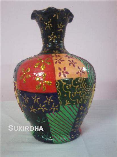 Pot Painting How To Make Pot Painting Craft Webindia123 Com