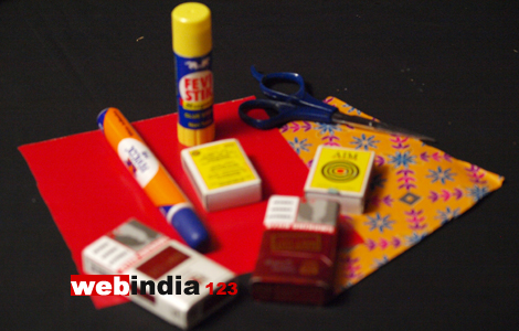 Making Sofa With Match Box And Cigarette Packets How To